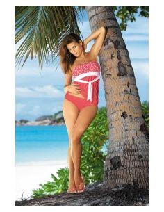Tankini-Ženski kupaći kostim Julie M-182 crvena ferrari -79-