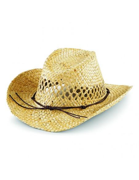 Slamnati kavbojski klobuk