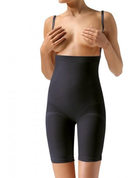 Ženske bermuda hlače za oblikovanje z naramnicami