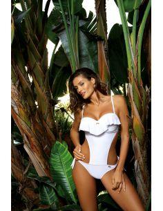 Ženski jednodijelni monokini kupaći kostim Carmen Bianco M-468 (7)