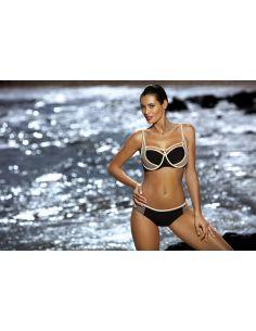 Ženski dvodijelni kupaći kostim Charlotte Nero M-495 (5)