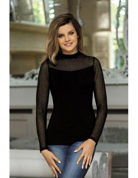 Ženska majica Noelia črna