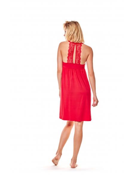 Ženska spalna srajčka Maggie 36159-33X rdeča