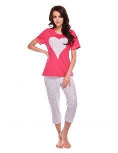 Ženska pižama Anabelle 308 kratek rokav