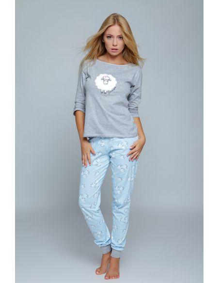 Ženska pižama Blue Sheep