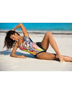 Ženski kupaći kostim Cassandra Nero-Erba M-554 (1)