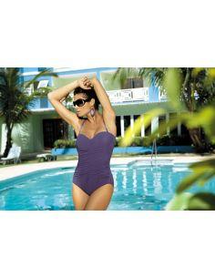 Ženski kupaći kostim Gabrielle M-123 (123) Fioletowy