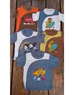 Majica za dečke Zvonkobijela