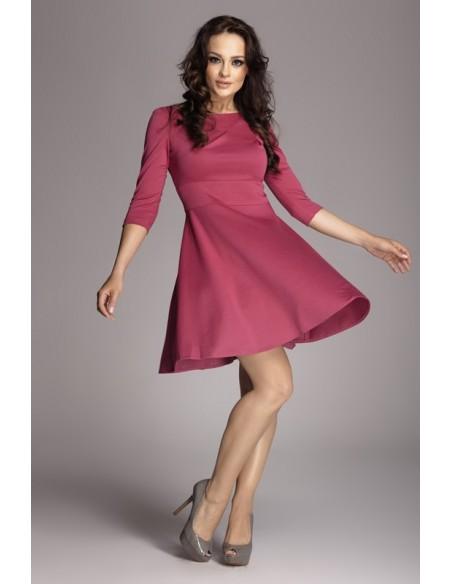 FIGL - Ženska obleka z 3/4 rokavi M081