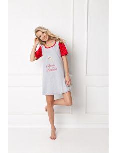Ženska lijetna pidžama Cookie siva
