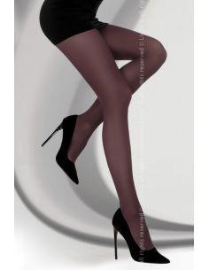 Hlačne nogavice Marcela 40 DEN Bordeaux