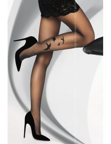 Hlačne nogavice Orsita 20 DEN črna