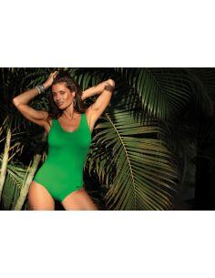 Ženski kupaći kostim Hermiona Palm Green M-597 (5)
