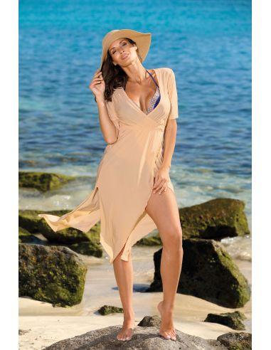 Tunika za na plažo Hilda Nude M-568 (8)