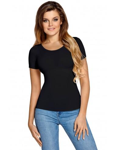 Ženska majica Carla kratek rokav črna