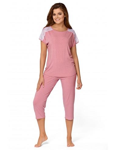 Piżama Anna svetlo roza