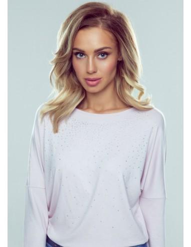 Ženska majica Zoe svetlo roza