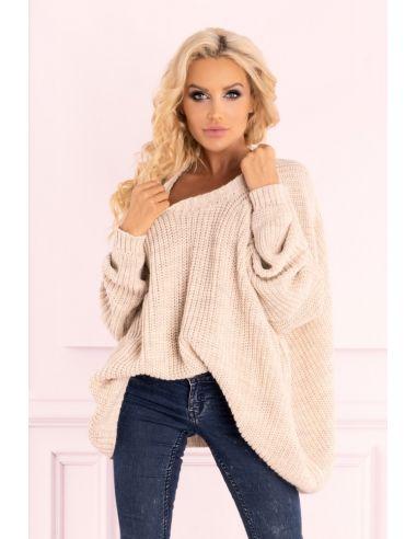 Ženski pulover Amardanis Beige