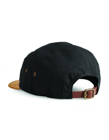 Petdelna kapa s ščitnikom iz semiša B658
