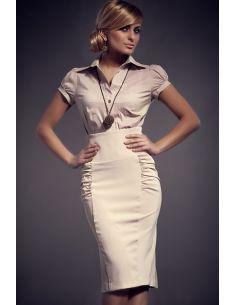 Ženska suknja s visokim strukom M044