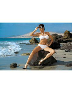 Ženski kupaći kostim Virginia Bianco M-206 bijela -29-