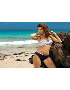 Ženske kopalke Kylie Blu Scuro M-227 modra (178)