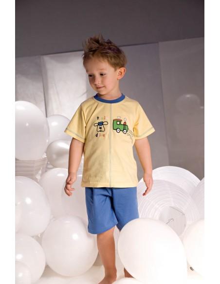 Otroška pižama Samuel 2973 rumeno-modra