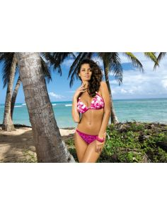 Ženski kupaći kostim Anette Dance Floor M-269 vijolična-roza (164)