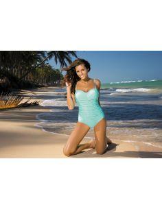 Ženski kupaći kostim Gabrielle 2 Seafoam Glow M-243 mentol (66)