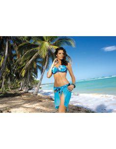 Ženski kupaći kostim Kristen Blu Scuro M-268 modra (201)