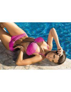 Ženski kupaći kostim Salma Clematis M-254 roza (156)
