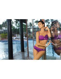 Ženske kopalke Liliana Mora-Sensual M-259 Fioletowy (22)