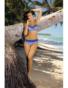 Ženski kupaći kostim Marita Oltremare M-277 safirno modra (87)