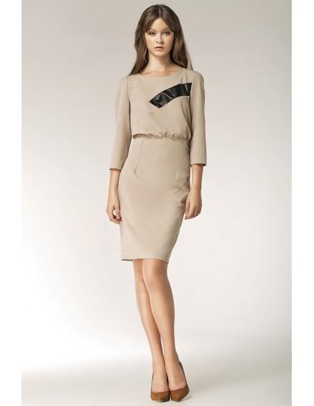 Ženska obleka z dolgimi rokavi S38