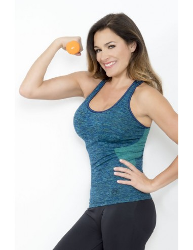 Ženska športna majica brez rokavov SPACE3 DONNA ACTIVE-FIT