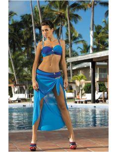 Ženski kupaći kostim Liliana Regatta-Sicily M-259 nebesno modra-modra (23)