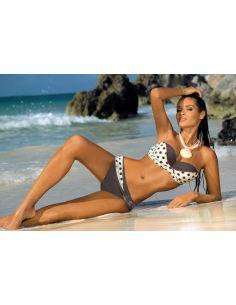 Ženski kupaći kostim Anastacia Ecru-Mokka M-341 (14)