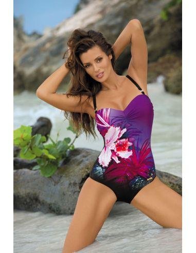 Ženski kupaći kostim Nicole M-378 Nero-Mirto (2)