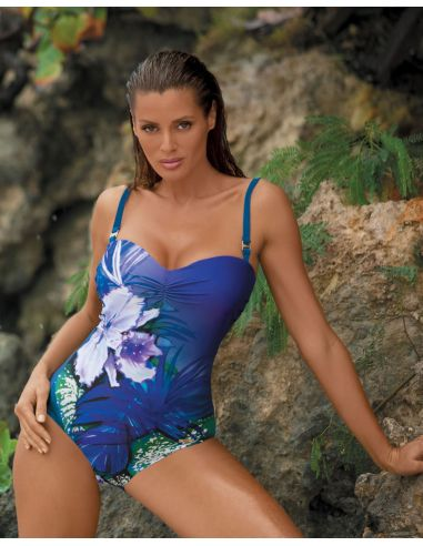 Ženski kupaći kostim Nicole M-378 Royal Blue (1)