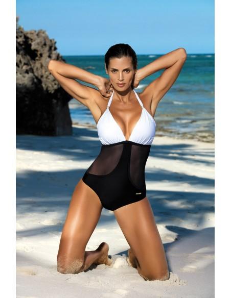 Ženski kupaći kostim Priscilla Bianco-Nero M-428 (7)