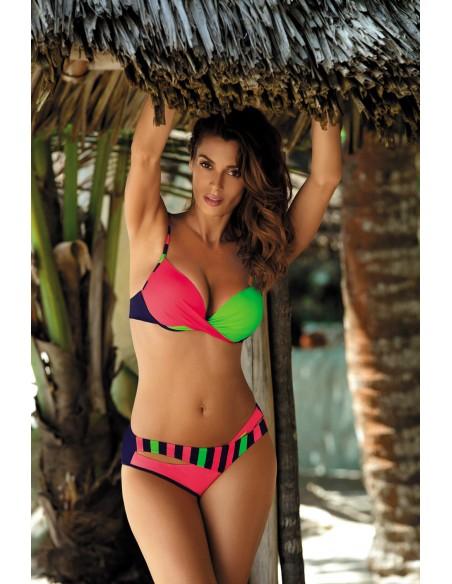 Ženske kopalke Tamara Blu Scuro-Coralmania-Smile M-399 (8)