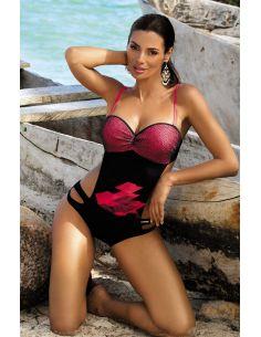 Ženski kupaći kostim Tina Nero-Psycho Red M-389 (1)
