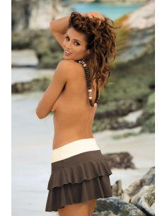 Kupaća suknja Mila Kaki-Avorio M-334 (12)